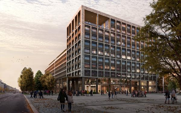 Berlin office Building masterplan General